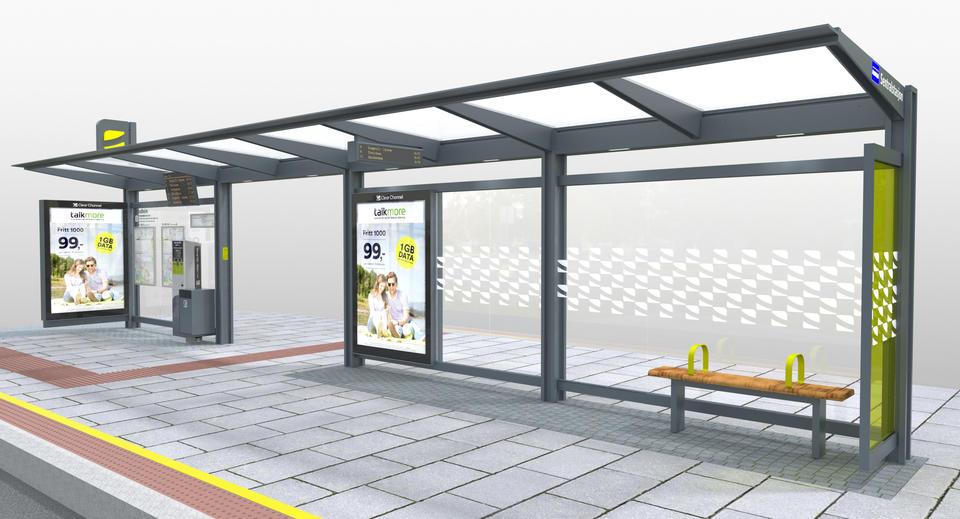 STASJONER: Illustrasjonen viser omtrent hvordan stasjonene på metrotraséene vil se ut.